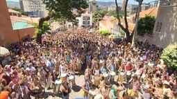 Foliões de BH encontram energia para último dia oficial do carnaval