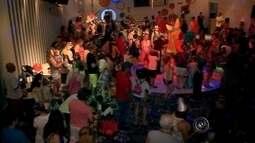 Criançada se diverte nas matinês de carnaval em Bauru