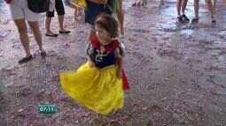 Vitória oferece matinês para crianças aproveitarem o carnaval