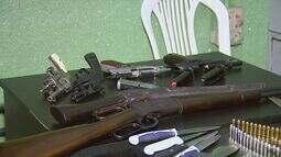Homem é preso por porte ilegal de armas em Ribeirão Preto, SP