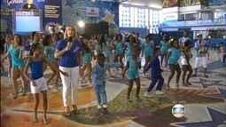 Veja a animação nas quadras das escolas de samba do RJ antes da apuração do Grupo Especial