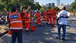 Comlurb aumenta número de equipes trabalhando nas ruas durante o carnaval