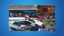 Irmãos são baleados por policias durante fuga, no AM