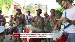 Bloco Chave de Ouro anima a quarta-feira de cinzas no Rio