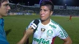 """Cristaldo critica atuação do Palmeiras: """"Temos que encontrar uma solução"""""""