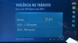 Levantamento da CET aponta redução no número de mortes de trânsito