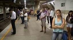 Faltam funcionários no metrô do DF