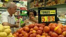 Preço do tomate fica mais barato no ES