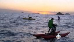 Travessia da praia da Barra até as Ilhas Tijucas é opção de lazer