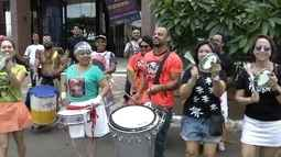 Blocos animam despedida do carnaval em Brasília