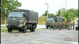 Militares do Exército se juntam ao CCZ em mutirão contra o Aedes aegypti em Campos, RJ