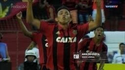 Redação AM: Confira gol marcado por Fábio, na vitória do Sport sobre o Náutico