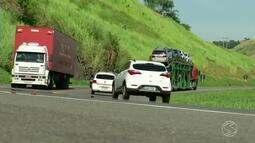 Cresce número de acidentes com veículos pesados na BR-393, em Três Rios