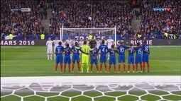 Quatro meses depois dos atentados em Paris, Stade de France recebe amistoso internacional