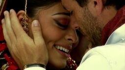 Maya e Raj se reencontram