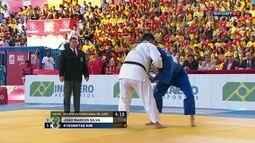 Desafio de Judô Brasil x Coria: João Marcos Silva vence Kyeongtae Kim