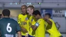 Os gols de Ponte Preta 1 x 1 Caldense pela primeira fase da Copa do Brasil 2016
