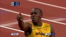 Pílulas olímpicas: Usain Bolt ganha medalha de ouro nos 200m nas Olimpíadas de Londres