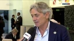 Franco Baldini, ex-diretor do Real Madrid, fala sobre atual momento da Seleção Brasileira