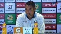 "Roger Machado comenta derrota do Grêmio para o Rosario pela Libertadores: ""Jogamos mal"""