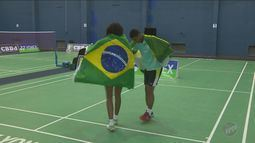 Brasil conquista medalha inédita no Pan de badminton
