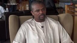 Veja uma entrevista com Kanu, o nigeriano que eliminou o Brasil das Olimpíadas de Atlanta
