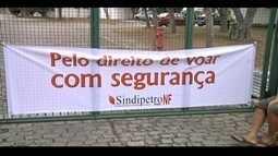Voos para Bacia de Campos são bloqueados em ato de sindicalistas