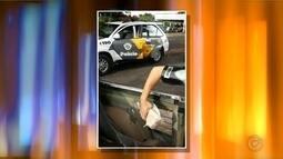Tabletes de maconha são localizados em fundo falso de caminhonete