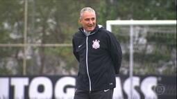 Tite sinaliza mudanças no time do Corinthians para o jogo de volta contra o Nacional