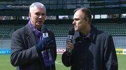 Brito, Maurício e Diogo Olivier analisam primeiro jogo da final do Gauchão