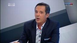 """Lino compara Audax e Santos: """"Dois times com controle de bola"""""""