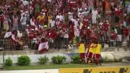 Confira os gols de CRB 2 x 0 CSA, na primeira partida da final do Alagoano