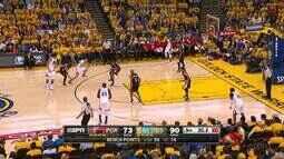 Melhores momentos: Golden State Warrios 118 x 106 Portland Trail Blazers pela NBA