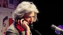 Confira a transformação de Nilton Bicudo para a peça 'Myrna Sou Eu'