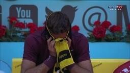 Del Podro vence Dominic Thiem e fica muito emocionado em Madrid