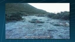 Faz menos 8 graus no Parque de Itatiaia