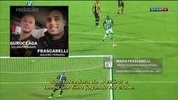 Após polêmica, mãe de goleiro reserva do Peñarol inspira comercial