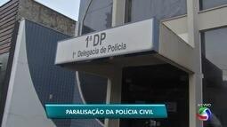 Policiais civis paralizam atendimentos por 24h em Campo Grande