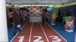 Tenda com informações sobre olimpíadas é inaugurada em Petrópolis, no RJ