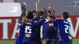 Os gols de Londrina 0 x 2 Cruzeiro pela 2ª fase da Copa do Brasil