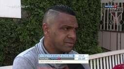 Leandro, ex-São Paulo, fala sobre duelo contra o Galo