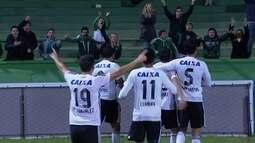 O gol de Coritiba 1 x 0 Cruzeiro pelo Campeonato Brasileiro 2016