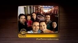 Internautas usam a hashtag #selfieterrademinas para postarem fotos em pontos turísticos