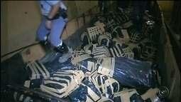 Polícia apreende toneladas de maconha em rodovia de Piraju