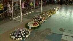 5 vítimas de um acidente de trânsito são enterradas em Colônia Leopoldina