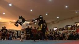 300 atletas disputam o Campeonato Brasileiro de Kickboxing em Goiânia