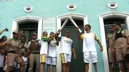 Tocha Olímpica chega à capital da Bahia