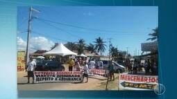 Moradores da Redinha protestam contra insegurança no bairro
