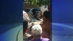 Mulher morre após carro invadir casa em bairro de Fernandópolis