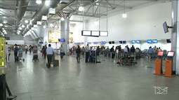 Diminui o número de voos no aeroporto de São Luís